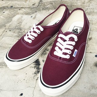 [VANS]Authetic 44 Dx ANAHEIM FACTORY PACK OG Burgundy
