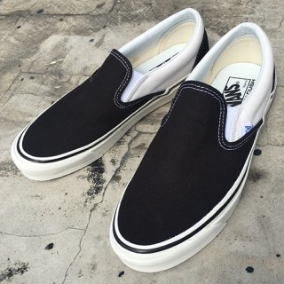 [VANS]Classic Slip-On 98 Dx ANAHEIM FACTORY Black x White