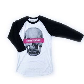[CHRISTENSON SURFBOARDS/クリステンソン]CC Skull Baseball Tee<img class='new_mark_img2' src='//img.shop-pro.jp/img/new/icons7.gif' style='border:none;display:inline;margin:0px;padding:0px;width:auto;' />