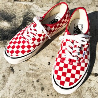 [VANS]Authetic 44 Dx ANAHEIM FACTORY PACK Red Check<img class='new_mark_img2' src='https://img.shop-pro.jp/img/new/icons7.gif' style='border:none;display:inline;margin:0px;padding:0px;width:auto;' />