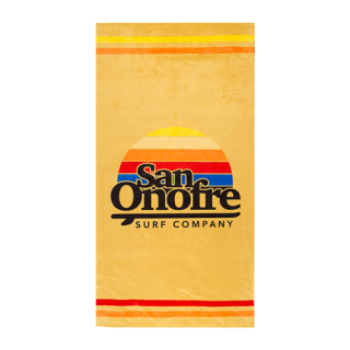 [SAN ONOFRE SURF CO.]Old School Sun Towel<img class='new_mark_img2' src='https://img.shop-pro.jp/img/new/icons7.gif' style='border:none;display:inline;margin:0px;padding:0px;width:auto;' />