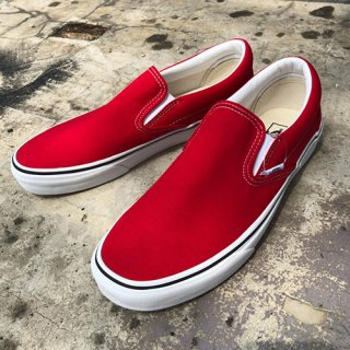 [VANS]Classic Slip-on Red<img class='new_mark_img2' src='https://img.shop-pro.jp/img/new/icons7.gif' style='border:none;display:inline;margin:0px;padding:0px;width:auto;' />