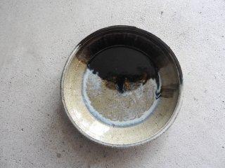 13 朝鮮唐津 青海波 7寸ベタ皿 C(在庫1点のみ) / 府川和泉