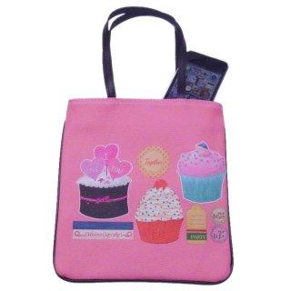 【値下げSALE!2280→999円】SWEET柄ミニトートバッグ/カップケーキ柄/レディースバッグ/小物入れ/かわい
