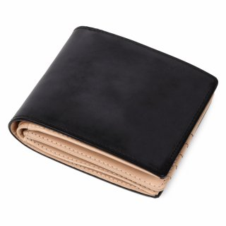 Raffaello 一流の革職人が作る 英国王室が愛するブライドルレザーを使用したメンズ二つ折財布