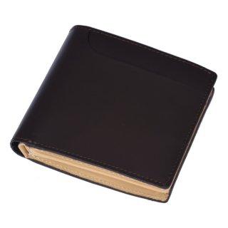 Raffaello 一流の革職人が作る 皮革の王様コードバンを彷彿とさせるロイヤルオイルドレザーで使用した二つ折り財布