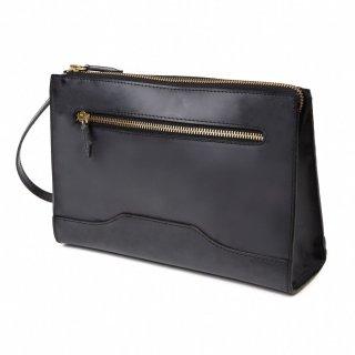 Raffaello 一流の革職人が作る 英国王室が愛するブライドルレザーを使用したメンズセカンドバッグ