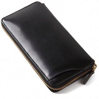 Raffaello 一流の革職人が作る ロイヤルオイルドレザーで使用したパスケース付きラウンドファスナー長財布