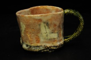 山口真人 鳴海織部マグカップ [ Narumi Oribe  Mug Cup by makoto YAMAGUCHI]