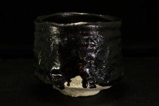 山口真人 瀬戸黒茶碗 [Seto-Guro Chawan by makoto YAMAGUCHI]