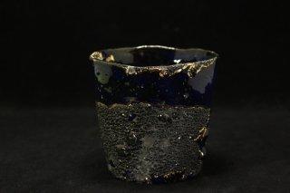 市川透 ロックグラス  Au.Pt迦具土「Ra」Bk [ Rocks glass Au.Pt Kagutsuchi Ra Bk by  Tohru Ichikawa]
