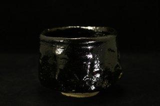 澤克典 瀬戸黒茶碗 [ Seto-Guro Chawan by katsunori SAWA]