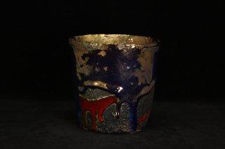 市川透 ロックグラス 「紫苑」  [ Rokkugurasu by  Tohru Ichikawa]