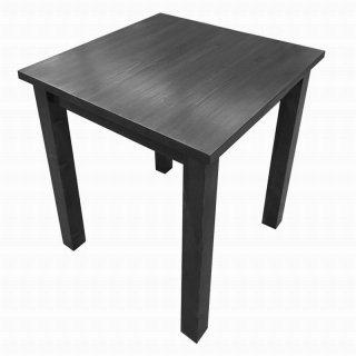 木製テーブル_幅80cm×奥行80cm×高さ72cm_オールナット+ニス_T001WN