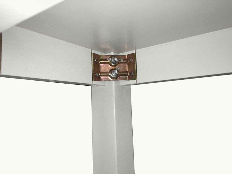木製テーブル_幅100cm×奥行50cm×高さ72cm_ミルキーホワイト+ニス_T002MW