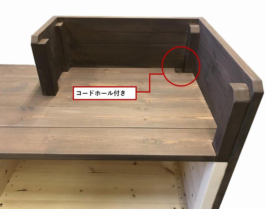 <img class='new_mark_img1' src='https://img.shop-pro.jp/img/new/icons14.gif' style='border:none;display:inline;margin:0px;padding:0px;width:auto;' />カウンター・レジ台_スリム_バック置付_幅75cm×奥行60cm×高さ108cm_オールナット_CT-1WN