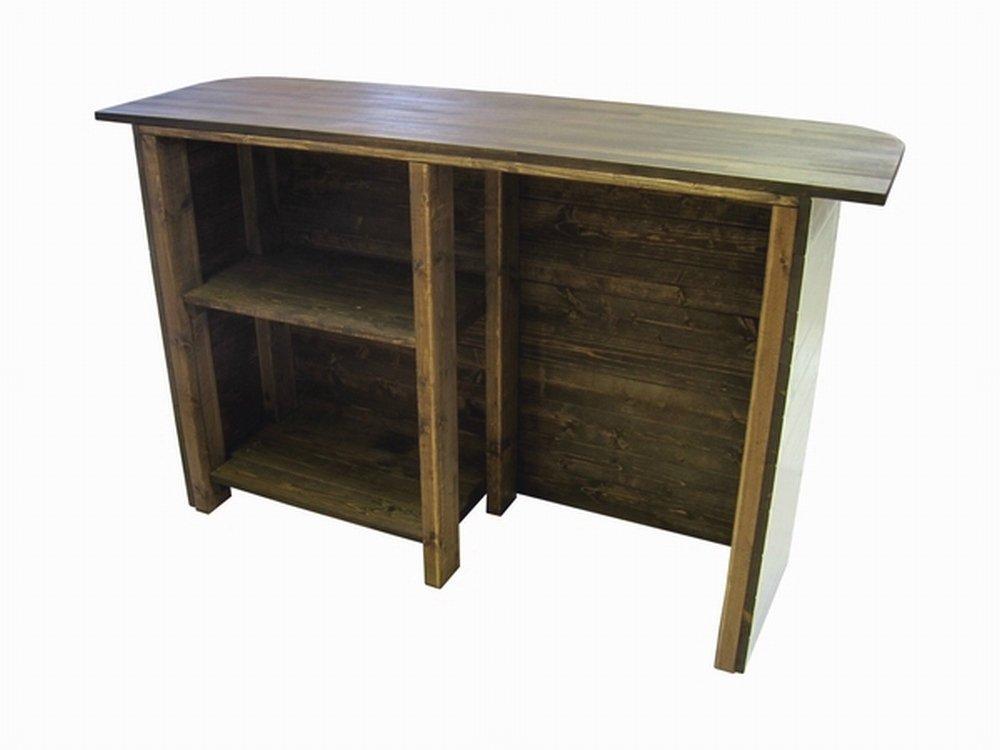 木製レジカウンター・受付カウンター_幅150cm×奥行45cm×高さ92cm_ミルキーホワイト_UN818MW