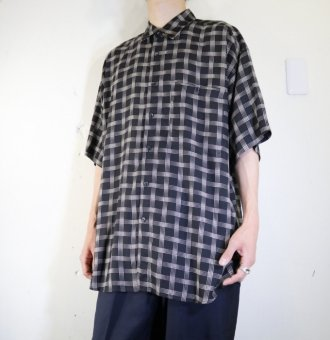 silk check BLK