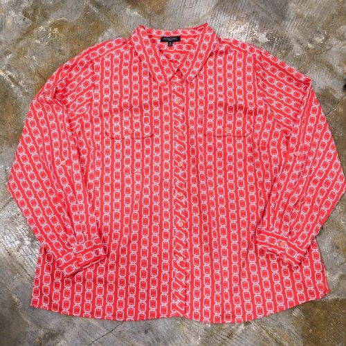 poly pattern red