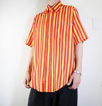 S/S stripe red/yellow