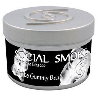Social Smoke ソーシャルスモーク ホワイトグミべアー 50g