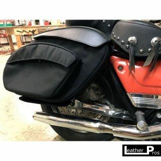 Leather Pros Retro Series V3 Saddlebags FXR
