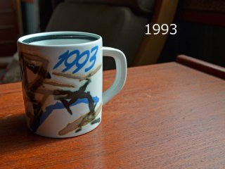 1993 Royal Copenhagen year mug <br>1993 ロイヤルコペンハーゲン イヤーマグ