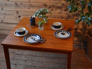 チークの木目が美しい<br>コーヒーテーブル  センターテーブル