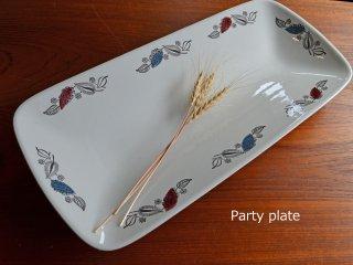 Rorstrand  / Party plate<br>ロールストランド / パーティープレート