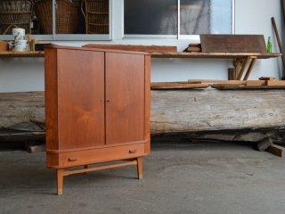 【SALE】<br>チーク コーナーキャビネット teak corner cabinet