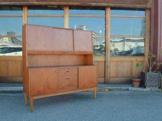 teak high cabinet  <br>チーク ハイキャビネット カップボード 食器棚
