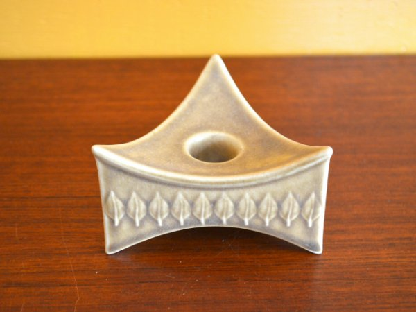 Jens.H.Quistgaard Leaf / Candle holder<br>クイストゴー リーフ クロニーデン キャンドルホルダー L
