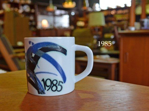 1985 Royal Copenhagen year mug <br>1985ロイヤルコペンハーゲン イヤーマグ