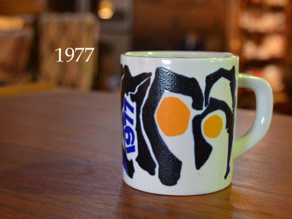 1977 Royal Copenhagen year mug <br>1977ロイヤルコペンハーゲン マグ