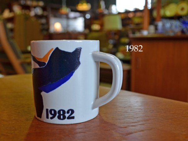 1982 Royal Copenhagen year mug <br>1982ロイヤルコペンハーゲン イヤーマグ