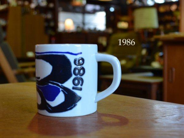 1986 Royal Copenhagen year mug <br>1986ロイヤルコペンハーゲン イヤーマグ