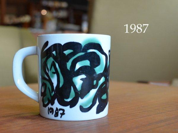 1987 Royal Copenhagen year mug <br>1987ロイヤルコペンハーゲン イヤーマグ