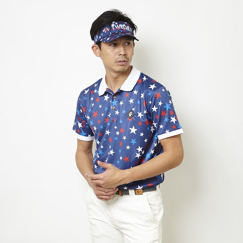 MULTI STAR POLO(NAVY)