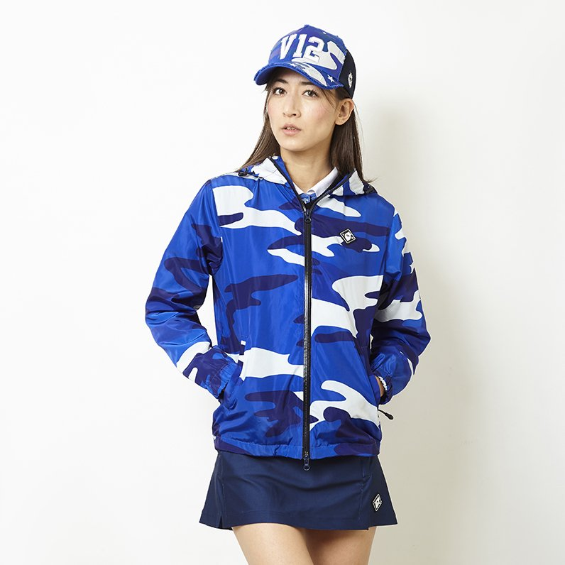 CAMO BLOUSON_WM(BLUE)