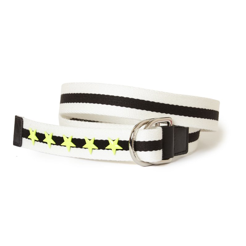 STAR STUD BELT(WHITE)