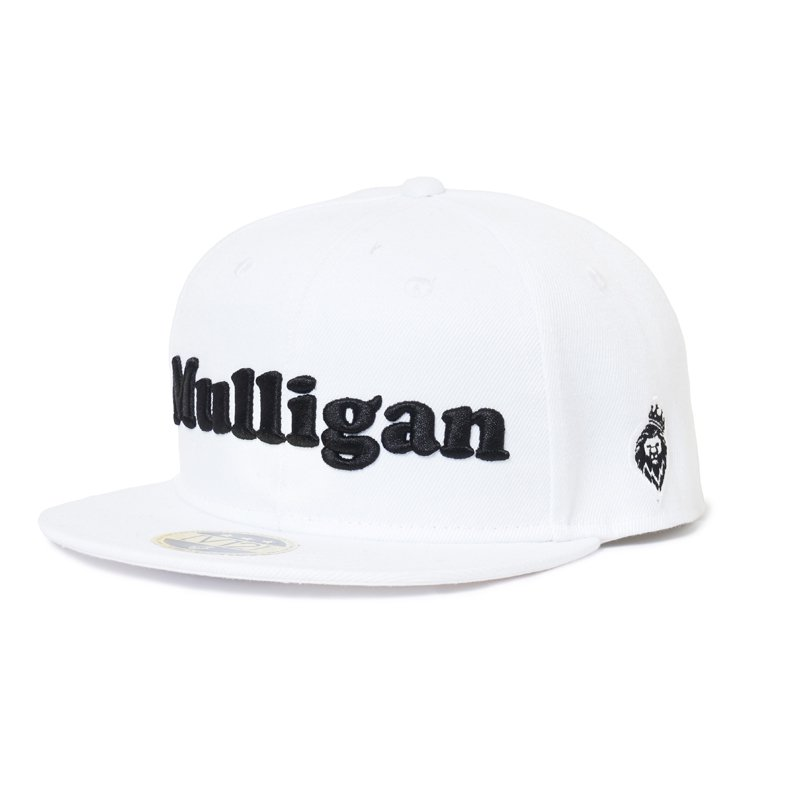 MULLIGAN CAP(WHITE)☆EVEN掲載