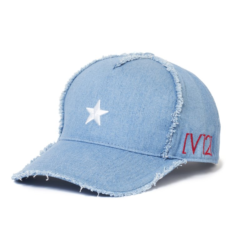 DMG DENIM CAP(BLUE)