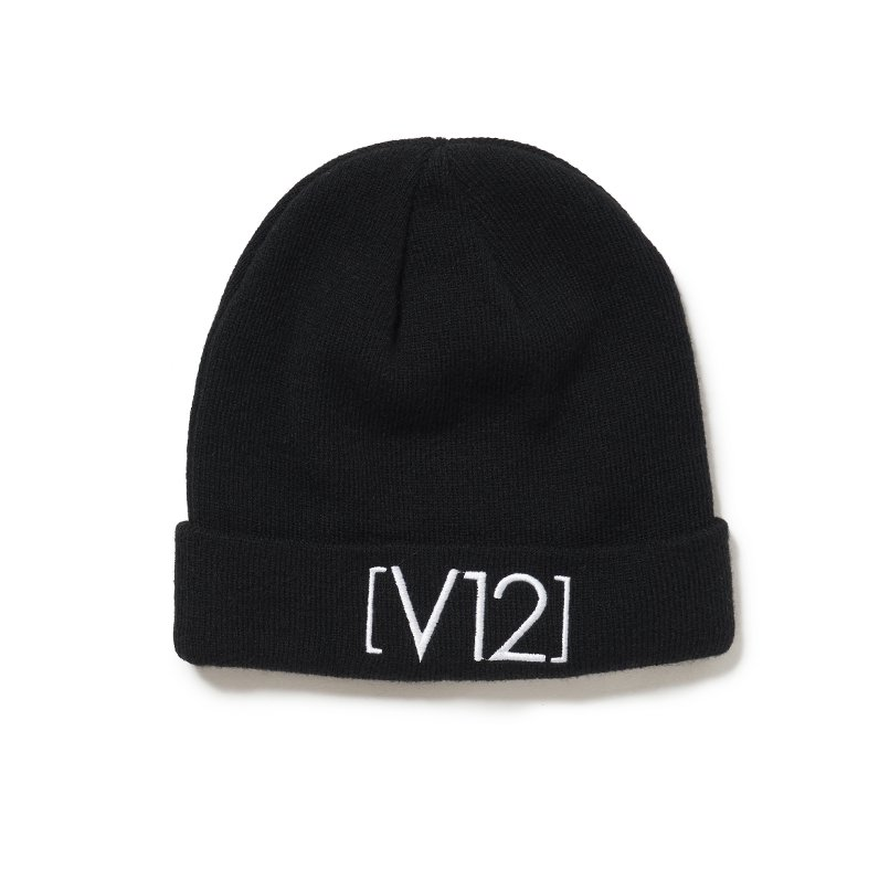V12 KNIT CAP(BLACK)