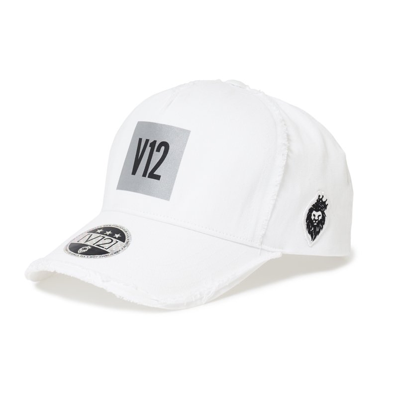 REFLECTOR CAP(WHITE) 【LEON別注☆】