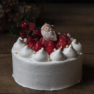 Gâteau aux fraises 2020 クリスマスケーキ ノエルショートφ15cm 配送不可【ご予約承り中!!】※12月23日-25日の期間中店頭販売しております