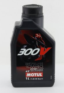 MOTULモチュール 300V FACTORY LINE ROAD RACING 10w-40  1L