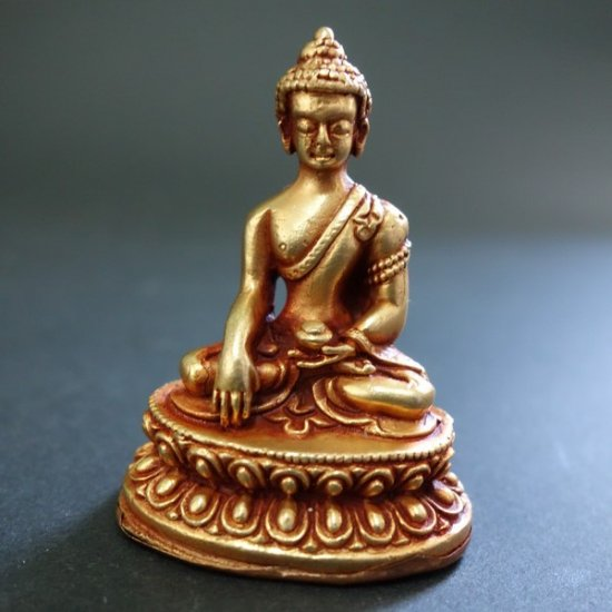 【仏像】釈迦如来 銅製 小さな仏像 6cm