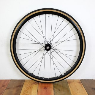 Wicked Custom Wheel / H Plus Son Archetype Rim × Phil Wood Low flange track Front hub