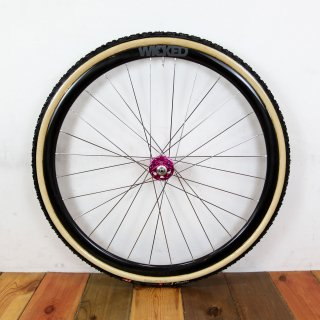 Wicked Custom Wheel / Wicked Carbon Rim × Industry Nine Torch Road Disc Hub Front