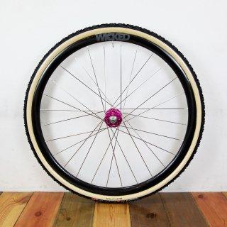 Wicked Custom Wheel / Wicked Carbon Rim × Industry Nine Torch Road Disc Hub Rear